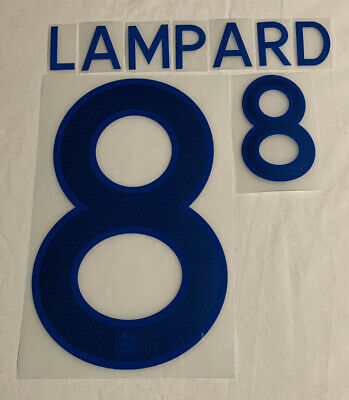 England Frank Lampard 8 Home Football Print 2011/12 Adults Sporting ID