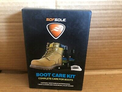 New Sofsole Boot Care Kit Complete Care For Boots