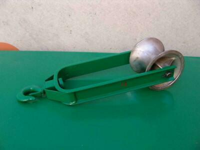 Greenlee Sheave Cable Puller Tugger 4000lbs Nice Shape #15