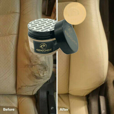 Leather Repair Cream Filler Compound Leather Restoration Cracks Burns Hole