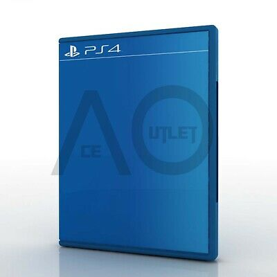 Sony PlayStation 4 PS4 Official Replacement Empty BluRay Genuine Game Case Cover