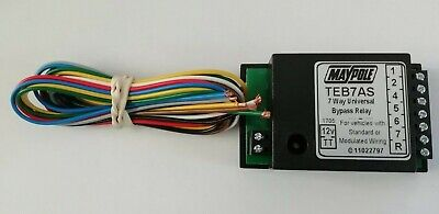 Motorhome 7 Way Bypass Relay PCT ZR2500 Towing Interface Inc Fog Cut Out