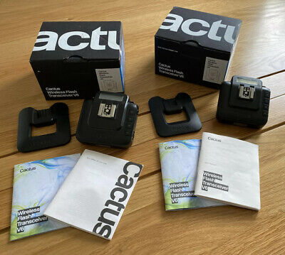 Cactus V6 Transceiver Twin Pack