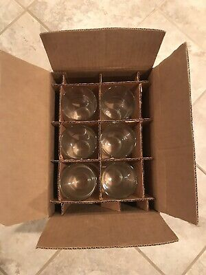 Budweiser Beer Glasses Set Of Six Brand New In Box