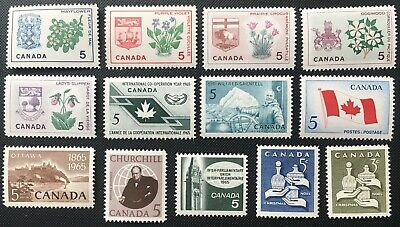 Canada Stamp - Complete Set of 1965 Issues
