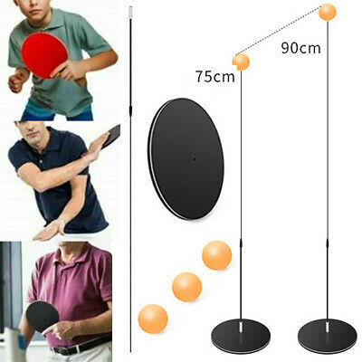 Kids Training Trainer Elastic Table Tennis Shaft Soft Ping-Pong Exercise Toy Set