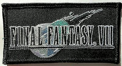 Final Fantasy VII Logo (Japanese Video Game) Embroidered Patch - New