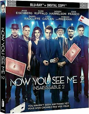 Now You See Me 2 [Blu-ray] New!