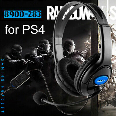 Stereo Wired Gaming Headset Headphones with Microphone for PlayStation 4 PS4