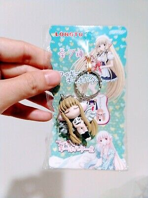 Chobits Chi Freya with Wings Figurine Key Chain Clamp *NEW*