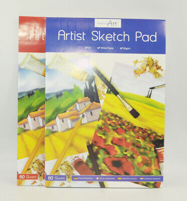 A4 Sketch Pad White Paper Book Drawing Doodling Artist Sketching Art Craft