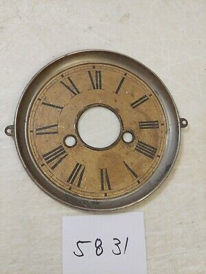 Antique  Gingerbread / Parlor Clock Dial From 30 Hour Movement