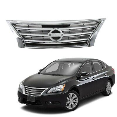 NEW FRONT BUMPER GRILLE TEXTURED BLACK FITS 2013-2015 NISSAN SENTRA 622543RM0A