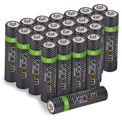 Venom Power 800mAh NiMH Rechargeable AAA Batteries - Multiple Pack Sizes