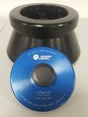 Beckman Coulter J-LITE JLA-16.250 Fixed-Angle Centrifuge Rotor