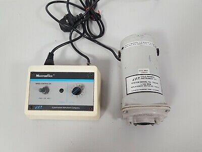 COLE PARMER Masterflex Easy Load 7518-10 with 7553-85 Pump & Speed Controller