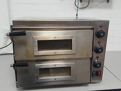 EP2P Electric Double Decker Pizza Oven Restaurant Commercial Catering