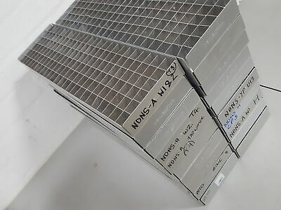 Lot of 20 Denley -80 Freezer Vial / Sample Storage Racks Lab 47.4cm x 13cm