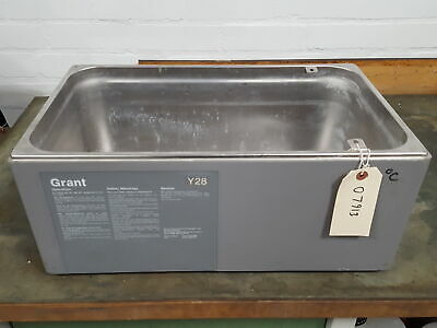 Grant Y28 Thermostatic Water Bath Tank Stainless Steel Planter Lab