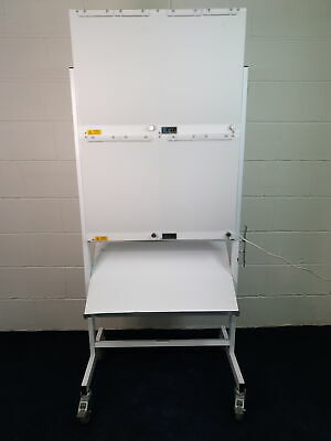 Quadruple X-ray Lightbox Viewer Mobile on Stand