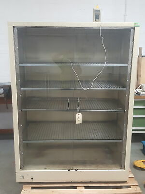 LEEC F1 Glassware Drying Cabinet / Warming Oven Lab