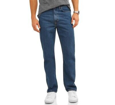 George Relaxed Fit Jeans, Medium Wash, 54x30 Big Men