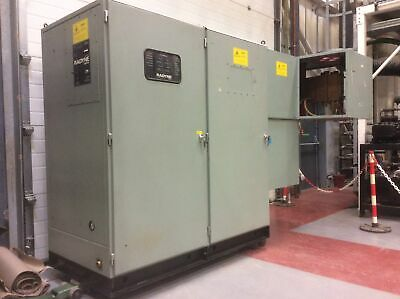 Radyne 175TC3 Induction Furnace Heater Oven 200kW 3.2m long, 1.5m wide, 2m high.