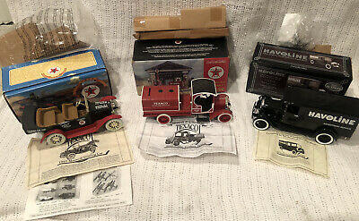 Texaco Havoline Die Cast Truck Lot