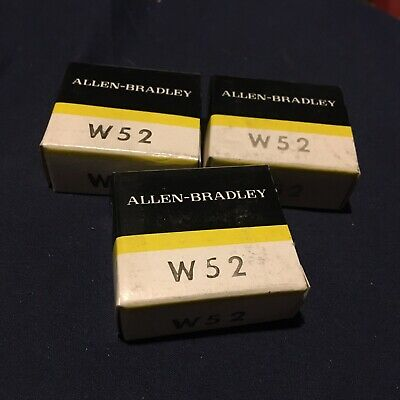 W52 Allen Bradley Lot Of 3 overload relay Heating Element *NEW IN BOX*