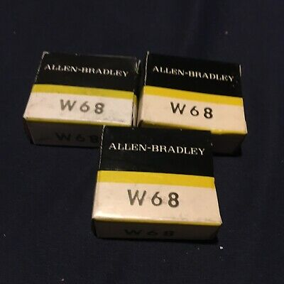 Allen-Bradley W68 Lot 3 Overload Heater Relay Thermal Unit New In BoX Free Ship
