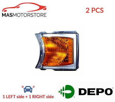 Indicator Light Blinker Lamp Pair Depo 771-1503N-Ue 2Pcs I New Oe Replacement