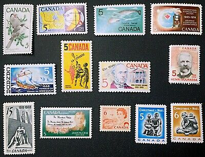 Canada Stamp - Complete Set of 1968 Issues