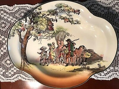 Royal Doulton Large Dish 'The Gleaners'