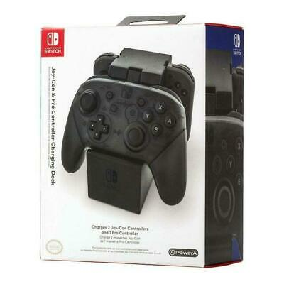 PowerA Joy-Con & Pro Controller Charging Dock for Nintendo Switch - Brand New