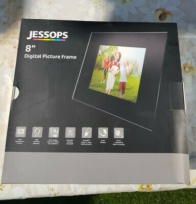 "Jessops 8"" Digital Picture Frame BRAND New Boxed"