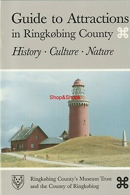 Libro Book GUIDE TO ATTRACTIONS IN RINGKOBING COUNTY DENMARK History Culture