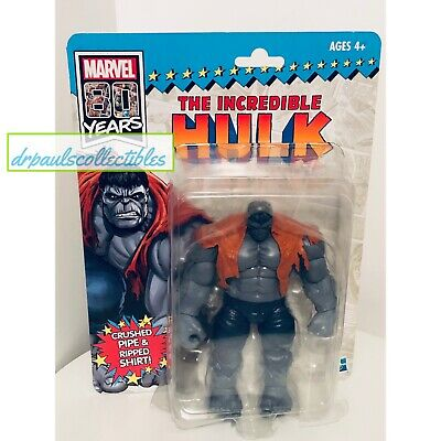 Marvel legends 80th anniversary  Grey Savage Hulk toy show Exclusive In Stock!