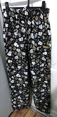 Kitchen Krew Size Small Chefs Pants NWOT
