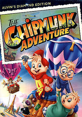 The Chipmunk Adventure (DVD, 2014) DISC ONLY