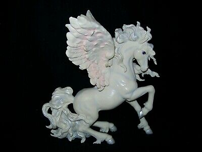 MOM AND BABY UNICORN PRANCING SIDE BY SIDE FIGURINE SCULPTURE ** NIB