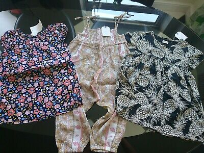 Next hm baby girl summer holiday dress tunic jumpsuit playsuit 12-18 months BNWT