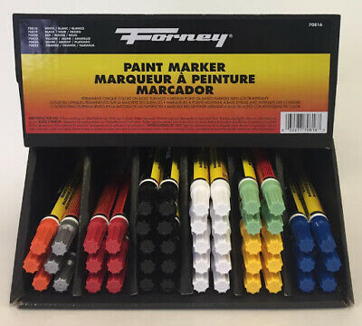 Universal Waterproof Permanent Paint Marker/Car Tyre Tire/Oil base/ MADE IN USA