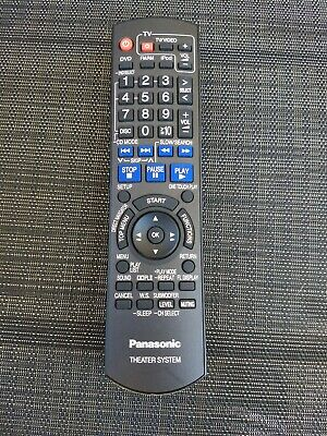 Replacement Remote Control for Panasonic SC-PT170