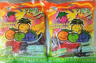 Fruit Jelly Candy (TIC TOK)  Assorted Flavors 8 count Factory Bag
