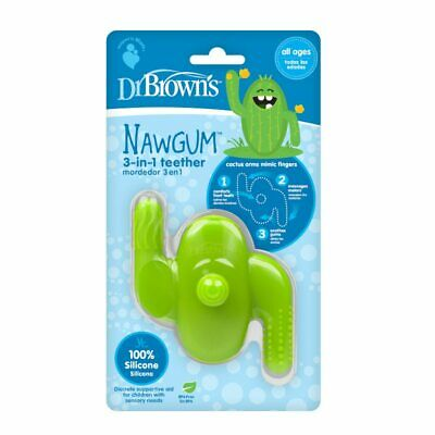 Dr Brown's Nawgum 3 in 1 Silicone Teether