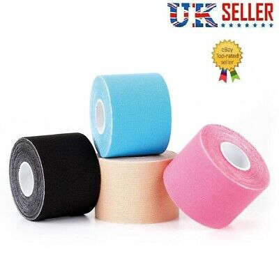 Kinesiology Tape Sports Body Therapeutic Care Physio Muscles Roll Muscle 5m ✅✅✅