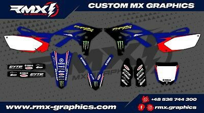 YAMAHA YZF 250 2010 - 2013 Graphics Decals Stickers Dekor Rival Designs RMX