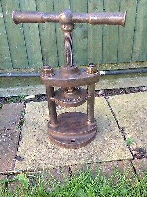 vintage cast iron press