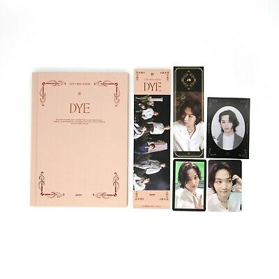 [GOT7] Mini Album / DYE / Not By The Moon / Ver. 4 (D) Album + 2 JB pcs