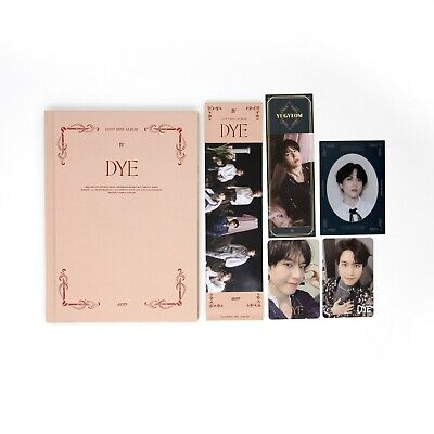 [GOT7] Mini Album / DYE / Not By The Moon / Ver. 4 (D) Album + 2 Yugyeom pcs